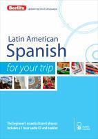 Berlitz Language Latin American Spanish for Your