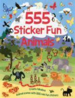 555 Sticker Fun Animals