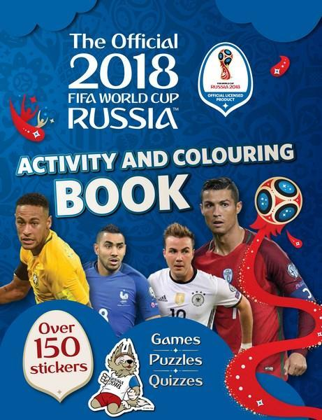 FIFA WC 2018 Activity & Colouring Book