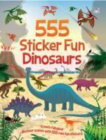 555 Sticker Fun Dinosaurs