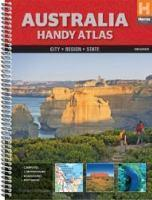 Australia Handy Atlas spiral 10th edition