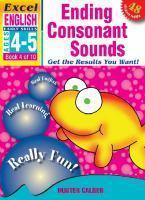 English Book 4 Ending Consonant Sounds Ages 4-5