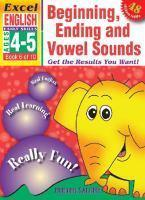 English Book 6 Beginning Ending & Vowel Sounds Ages 4-5