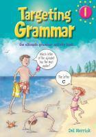 Targeting Grammar Book 1