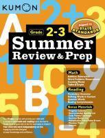 Summer Review Prep 2 & 3