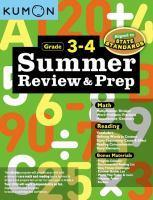 Summer Review & Prep 3 & 4